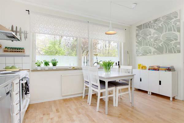 斯德哥爾摩的清新兩室公寓