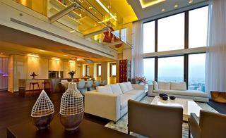 以色列现代奢华顶层公寓