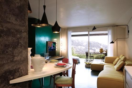 欧式风格公寓大气客厅装修