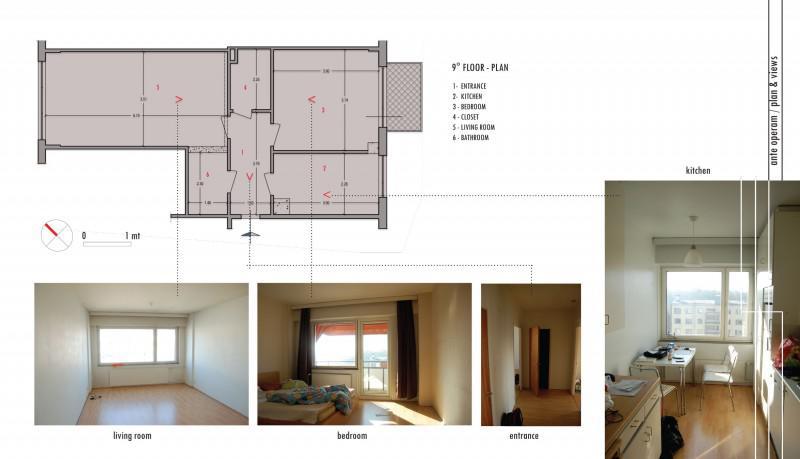 北欧风格公寓时尚户型图
