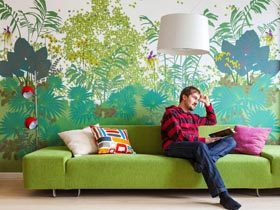 芬兰多彩复式公寓