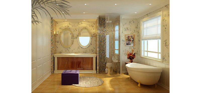 欧式别墅装修效果图,室内设计效果图-齐家装修网