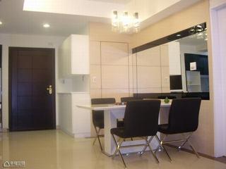 简约风格公寓简洁餐厅设计