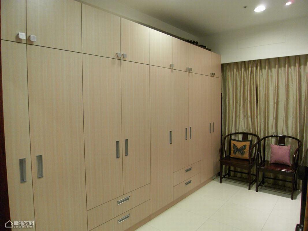 混搭风格温馨衣柜旧房改造家装图片
