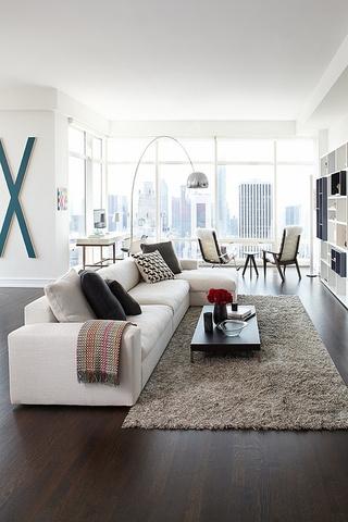 客厅的温馨细节  地毯