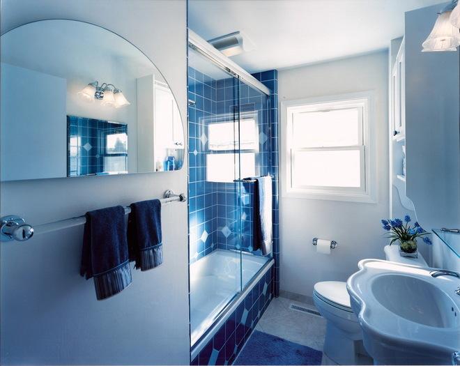 简单实用布局的卫生间设计