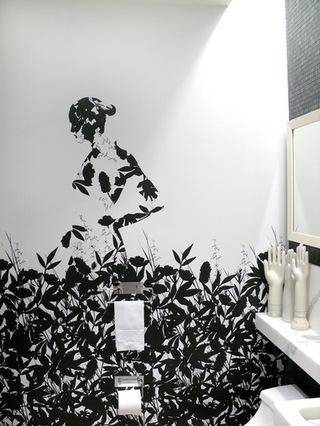艺术范的卫生间设计