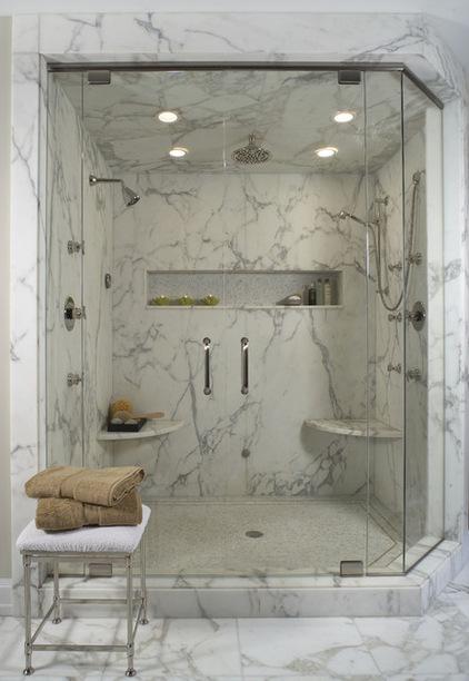 安装大理石的卫生间设计
