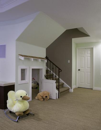 阁楼,地下室卫生间隐藏的空间