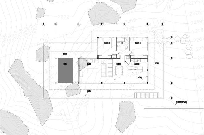 荒野别墅设计