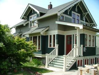 美国工匠风格的清新别墅