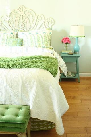 舒适清新卧室风
