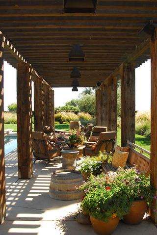 葡萄酒庄庭院设计