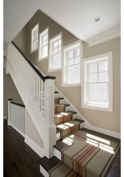 现代家装别墅楼梯设计_齐家网装修效果图