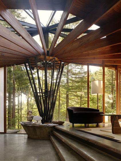 非常奇特的起居室 奢华的传统风格