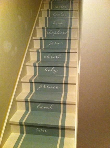 种种风格的楼梯