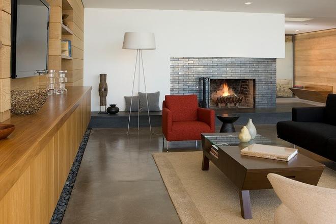 各种元素的客厅