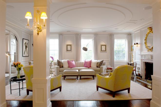 时尚浪漫的现代公寓