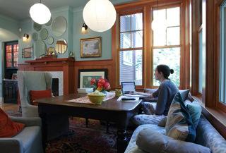 复古原木色家具 现代感设计