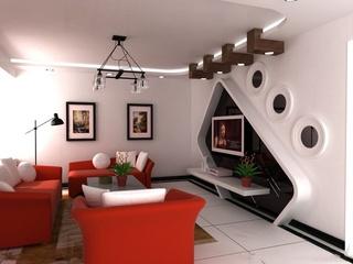 简约风格客厅设计集锦