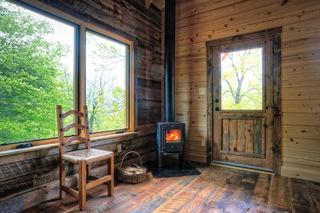温暖小木屋 简约而又实用