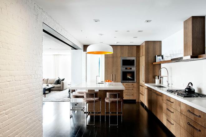 开放式厨房设计 充满温馨浪漫的小屋