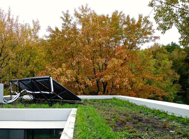 现代艺术别墅带露台设计