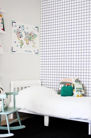 黑白搭配简单公寓