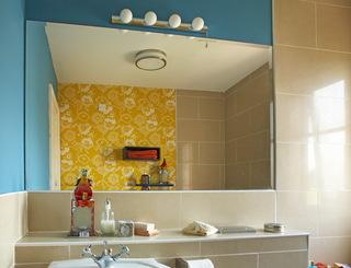 颜色巧妙搭配的公寓
