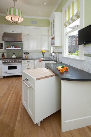 美式风格开放式厨房设计