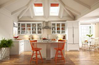 活力纯橙点缀爱厨  瞬间点亮众人眼球