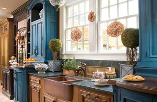 厨房效果图给你灵感 给你夏日最清凉的厨房
