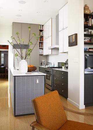 黑与白的对撞 你准备好迎接这样的厨房吗?