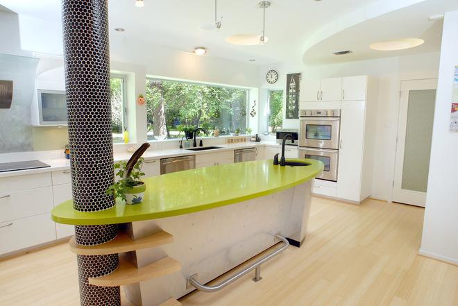 厨房里的小吧台 超级实用