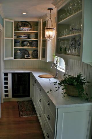 开放式厨房 把锅碗瓢盆藏起来