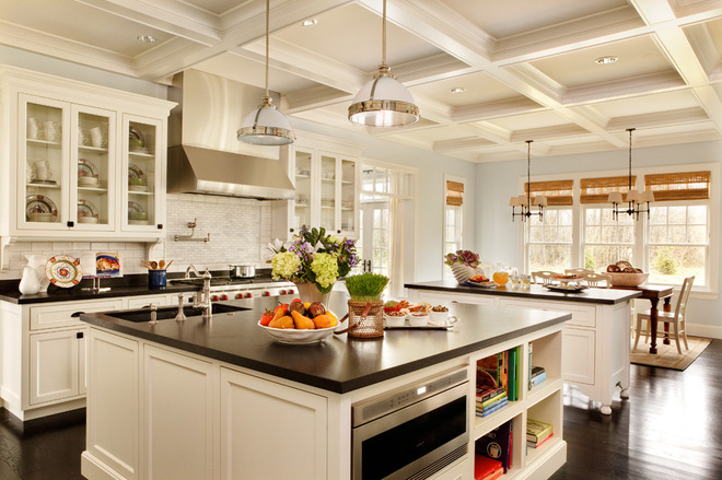 大空间厨房装修 大房子豪厨房