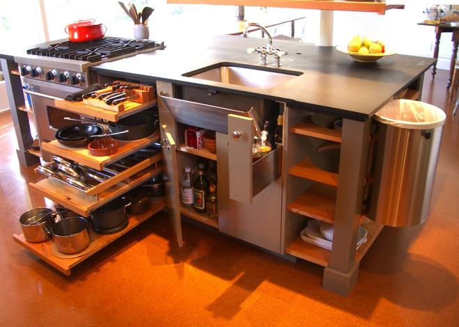 小戶型廚房的10大擴容高招  增大廚房空間