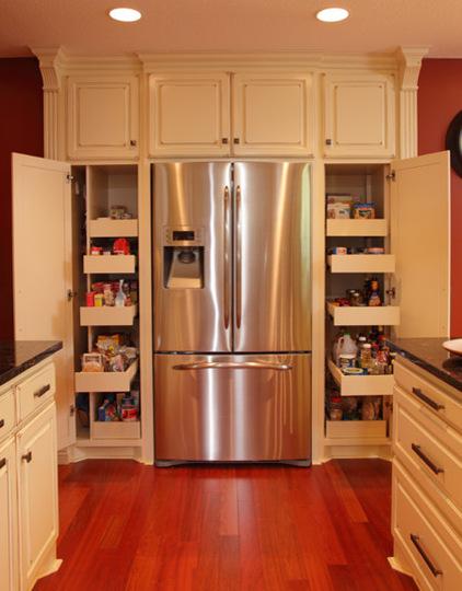 大大的收纳空间  整洁的功能厨房