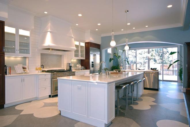厨房地板  找到适合你家的材料
