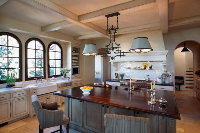舒適廚房設計 美式風格展現