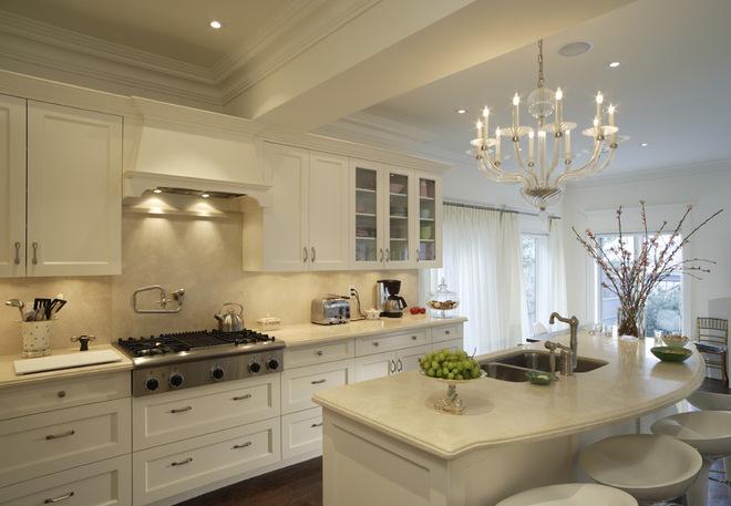 廚房與餐廳合二為一的設計形式