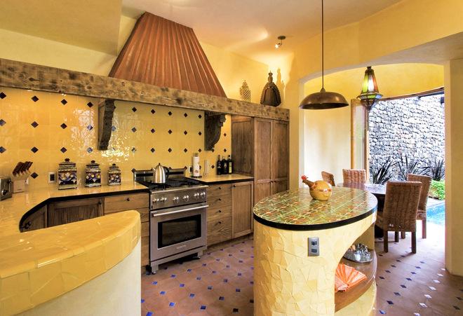 不同款古典风格厨房   那款适合你家