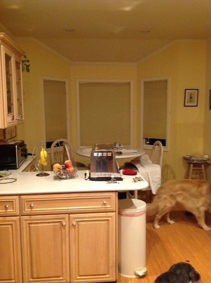 简单原木色厨房    有适合你的么