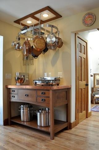 安全而又不失时尚的存放厨房小电器