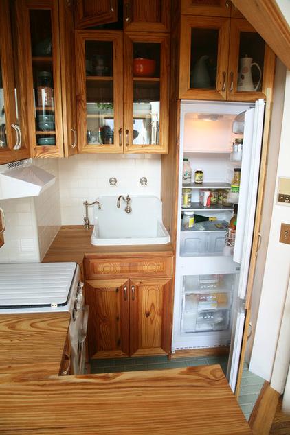原生态的木质厨房   给你不一样的感受