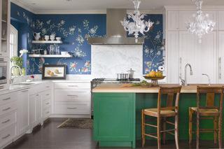 亮色系厨房   时尚而实用