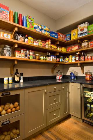葡萄酒柜与厨房的融合设计   不同酒柜图片欣赏