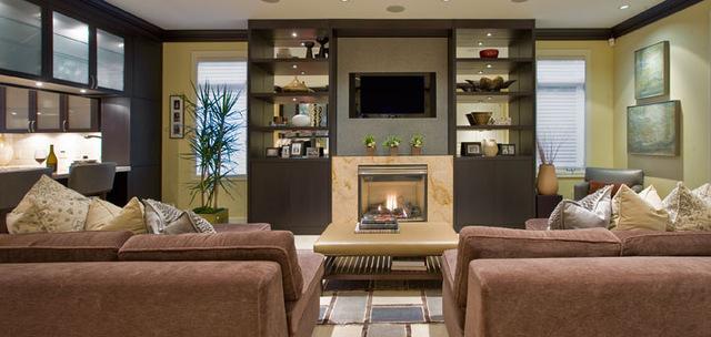 欧式风格卧室儿童房客厅及电视背景墙装修欣赏