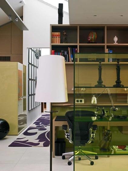 欧式公寓装修 立柜和玻璃隔断瞬间点亮狭小阁楼