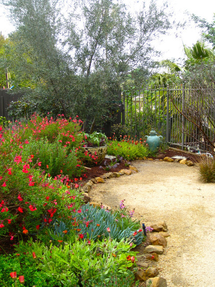 乡村边的路 自然花园风格
